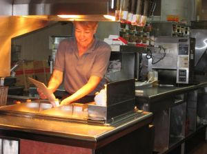 <p>Sharon Robinson has worked for Burger King in South Florida for over 50 years.</p>