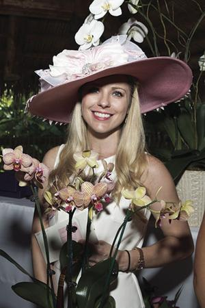 Kentucky Derby Hat Contest Winner Shannon Carricarte