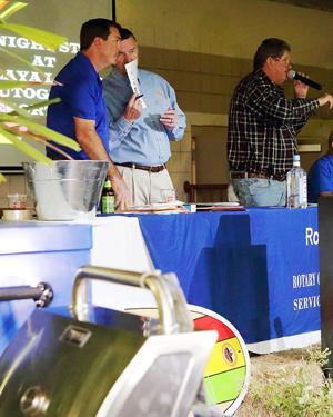 From left: Eric Tietig, Bob Epling and Hal Arve making it happen