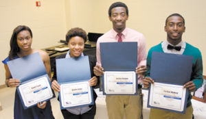 EHS basketball players were honored with awards