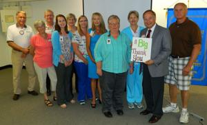 Minnesota Valley Health Center thanks Rep. Bob Vogel