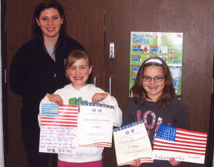 Le Sueur-Henderson students place in County Legion coloring contest