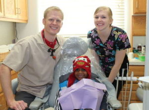 Riverside Dental Care in St. Peter participated in Give Kids a Smile Day