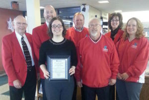 Chamber Ambassadors give Progress award to Waseca Library