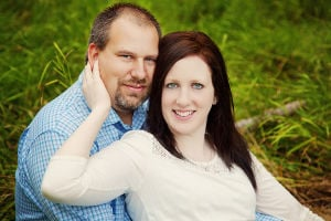 Engagement: Nicole Snook-Johnson and Dustin Christenson, of Welcome