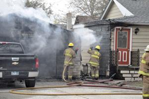 Northfield garage fire