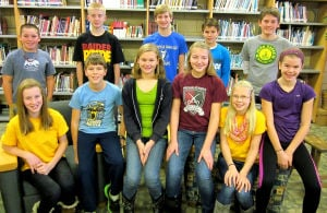 Northfield Middle School names students of the month