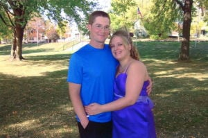 Engagement: Christina Hague and Joseph Stoffel, of St. Peter