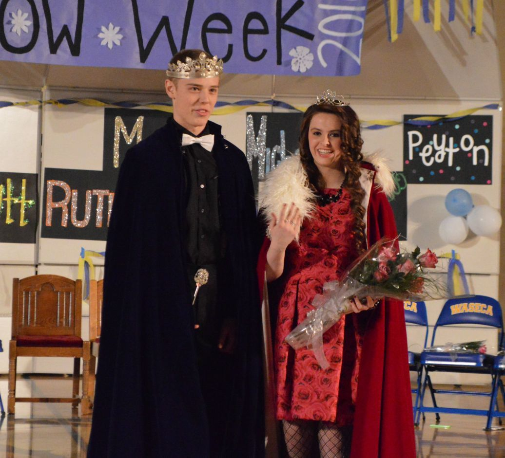 GALLERY: Waseca High School announces its Snow Week king and queen
