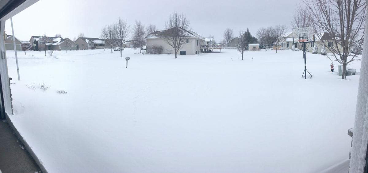City snowed under by Winter Storm Quid