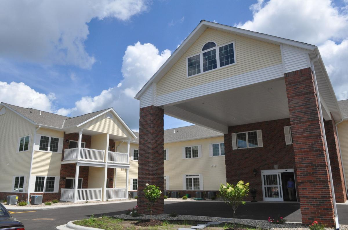 Oak terrace blends assisted living facility with touches for Terrace senior living