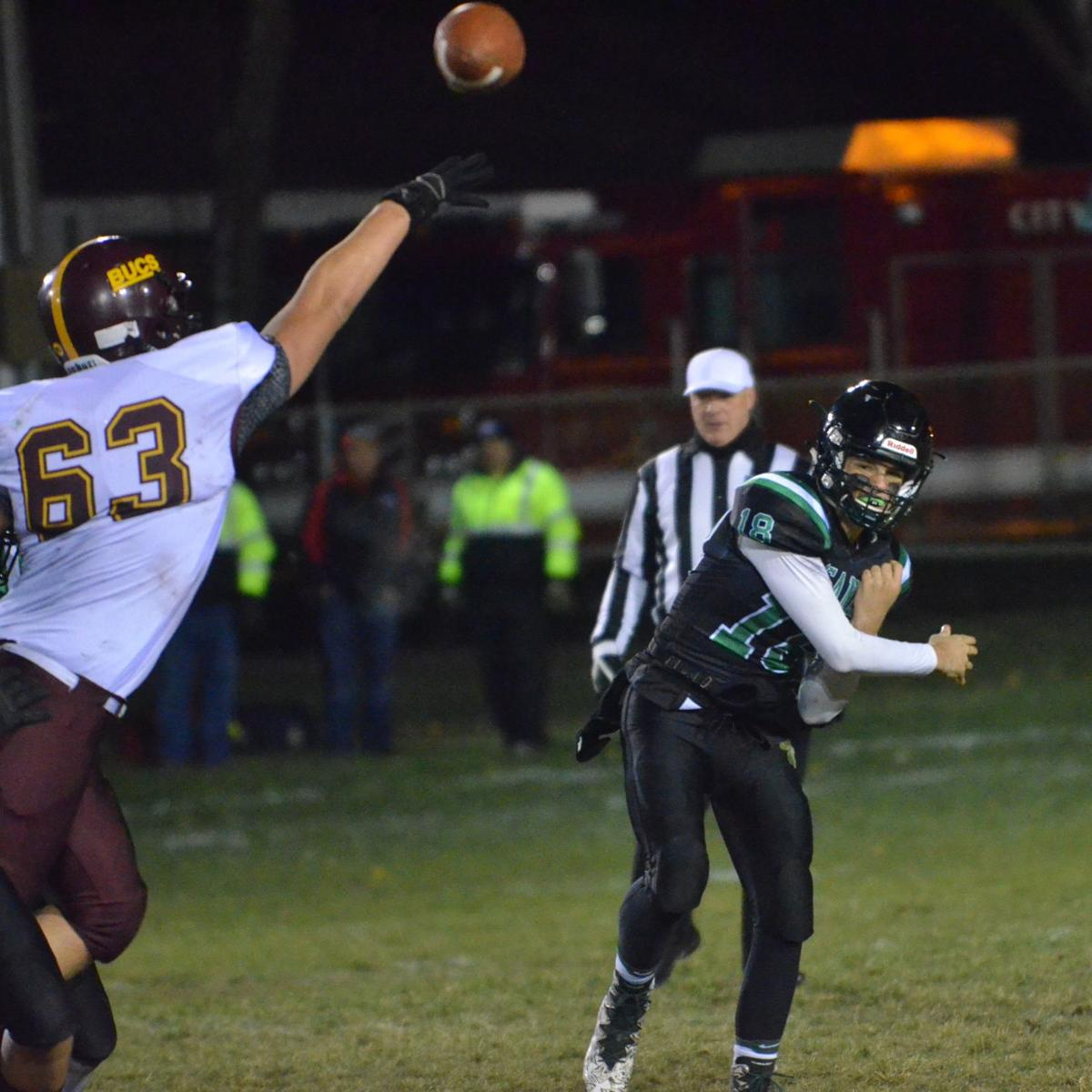 Blue Earth Area at Waterville-Elysian-Morristown football, Section 2AA semifinals, Oct. 28