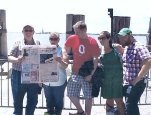 Owatonna People's Press visits New York City