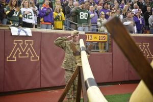2014 Minnesota Vikings Military Appreciation Day