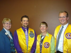 Waseca Lions Club welcomes three new members