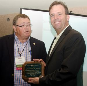 Rep. Pat Garofalo receives Public Service Award from MMUA