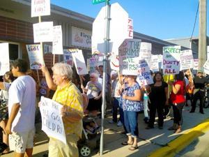 Albert Lea protest