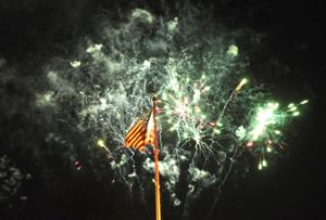 Flurry of fireworks