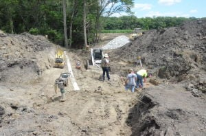 French Lake conservation project on Furlong property