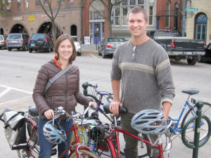 Couple receives HCI 'Making a Difference Award' for efforts in bicycling community