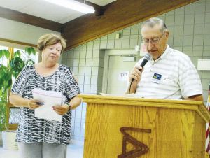 Kiwanis Club of Owatonna Golden K inducts Donell Schroder