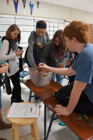 Fundraising lollipops