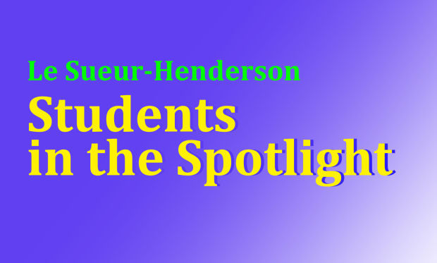 Le Sueur-Henderson Students in the Spotlight - Jan. 16