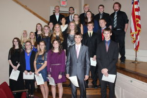 Waseca High School inducts new National Honor Society members