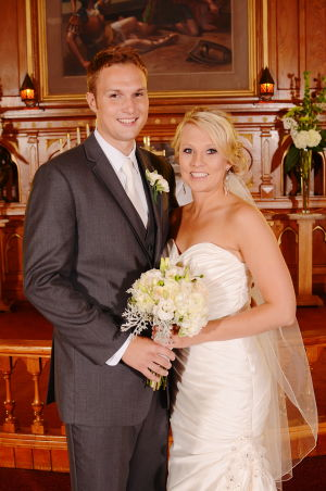 Karl and Megan Jacobsen married in Lafayette