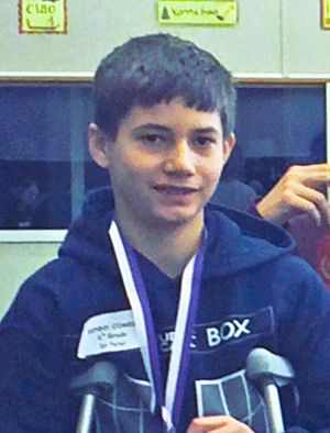 First at regional chess tourney for St. Peter seventh-grader