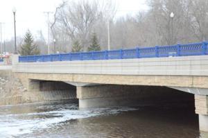 Cannon River runs under the Second Avenue Northwest bridge