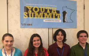 Local students attend summit