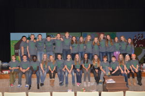 Faribault Middle School student council
