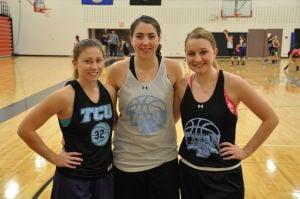 TCU girls captains