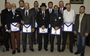 Northfield Masonic Lodge installs officers for 2015