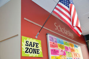 Safe zone at OHS