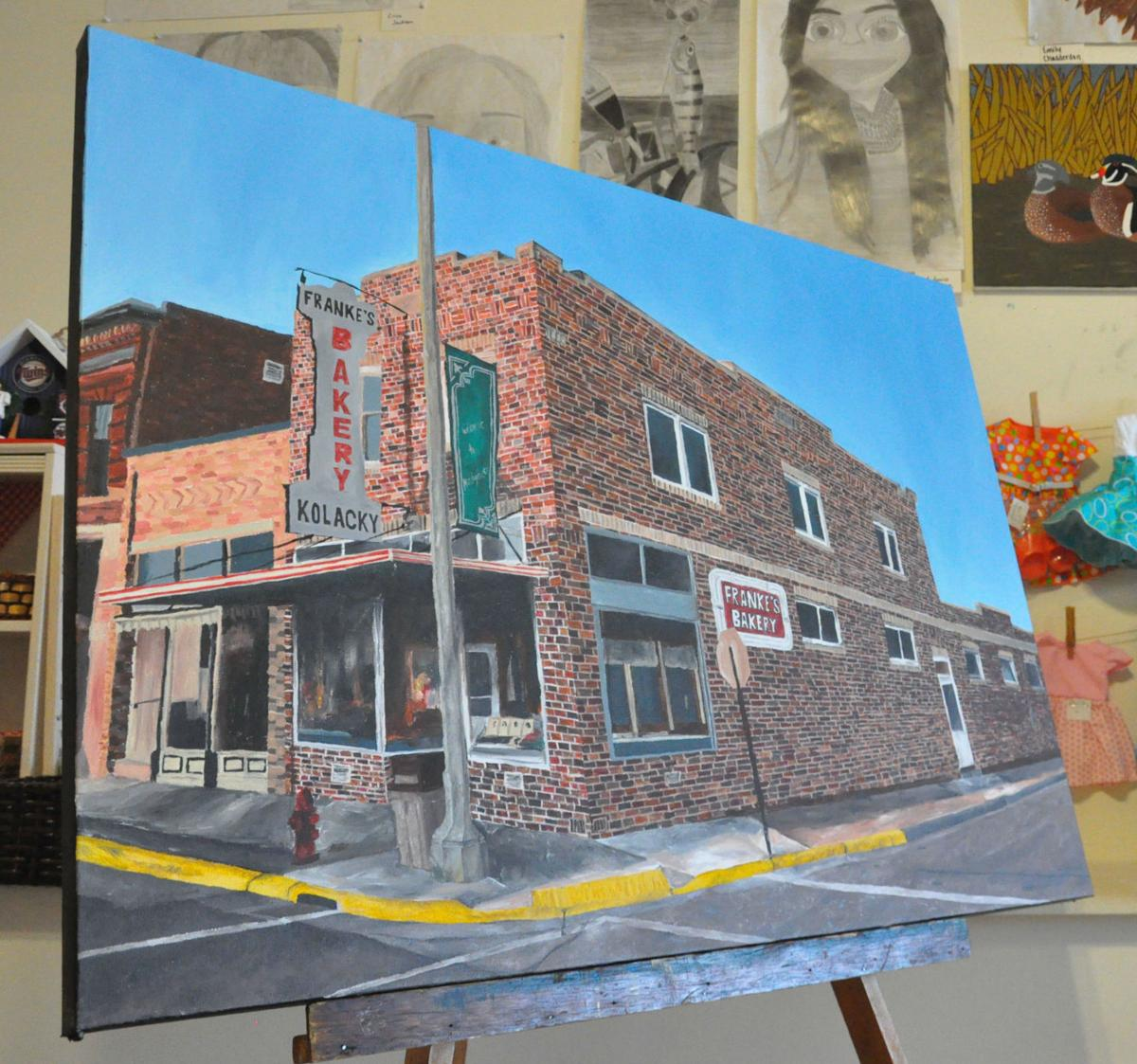 Student art exhibit wraps up with workshop at Waseca Art Center