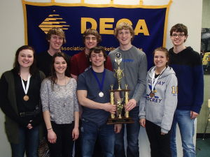 Waseca High School DECA honored