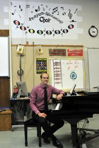 Jesse Beulke hired as long-term vocal music teacher at Kenyon-Wanamingo