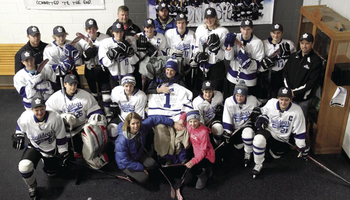 Bulldogs' hockey family come out in support of John Wilson
