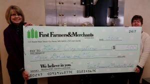 First Famers & Merchants making a difference $5 at a time
