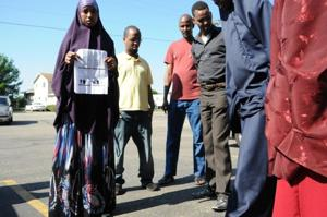 Somali workers walk out over company dress code