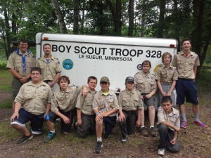 Boy Scout Troop 328 spends week at Camp Tomohawk in Rice Lake, WI