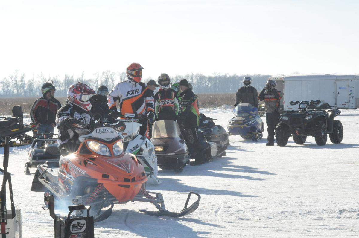 Snowmobile races attracts record numbers of participants