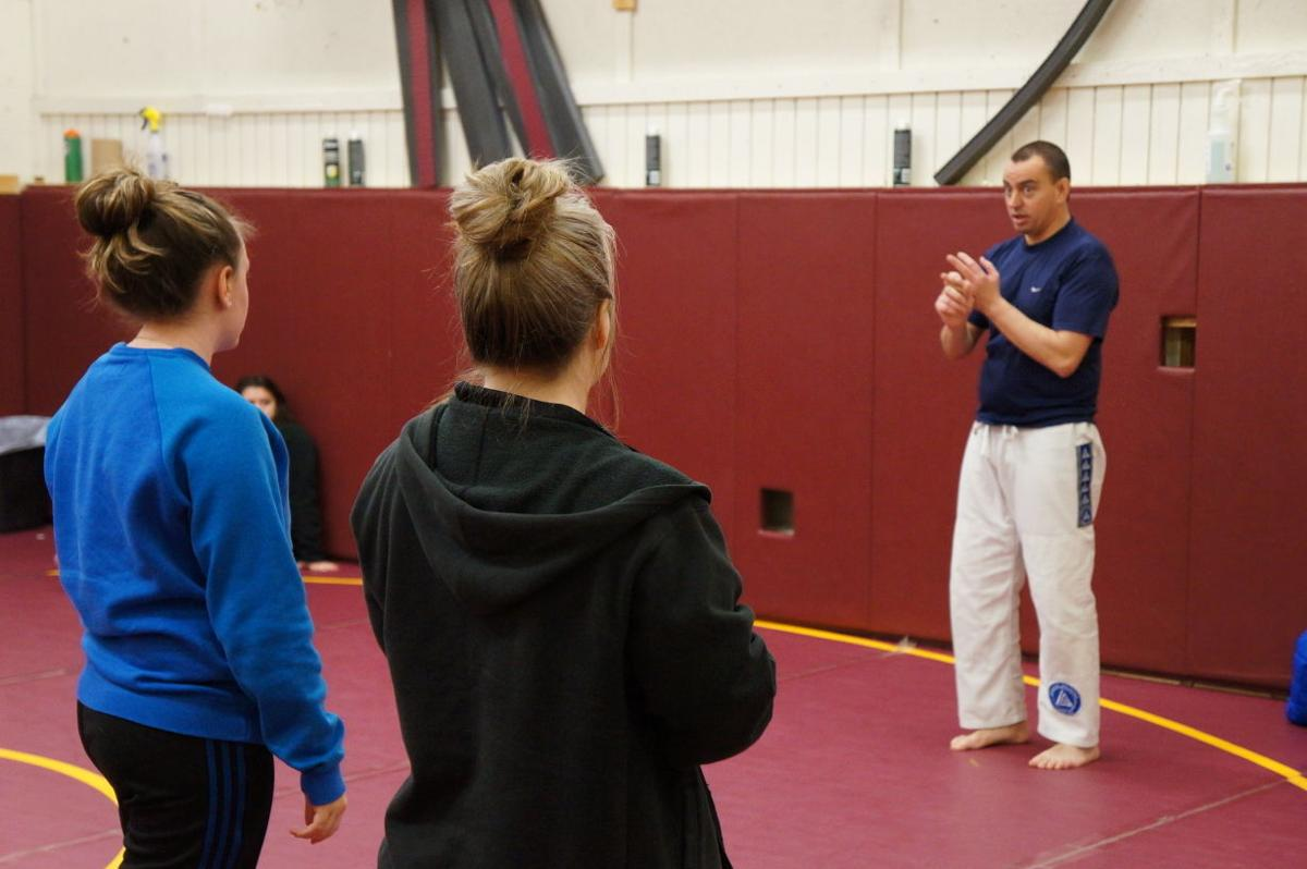 Northfielders learn self-defense in new Community Services class