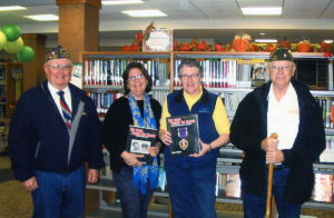 "Le Sueur VFW Post 4297 donates ""The Faces Behind the Names"" to libraries"