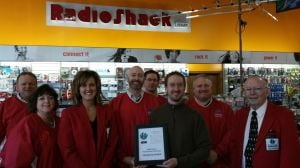 Radio Shack gets Chamber award