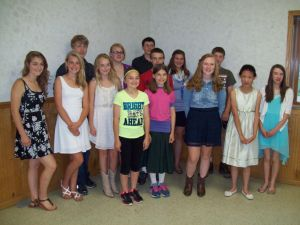 Le Sueur County 4-H annual Performing Arts and Demonstration Day