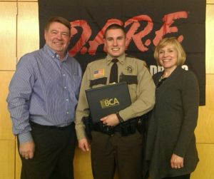 Northfield's Estrem graduates D.A.R.E. officer training