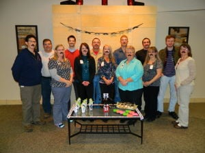 Minnesota Valley Health Center in Le Sueur participated in Movember